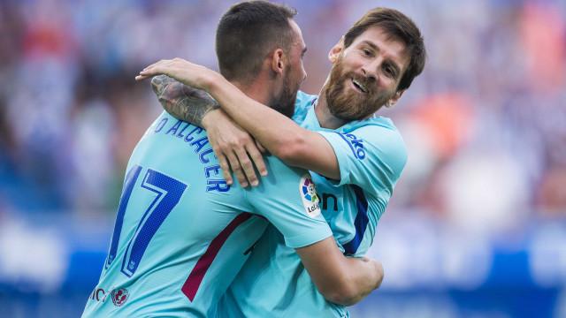 """""""Parece que o Messi está a passar por algumas dificuldades sem o Neymar"""""""