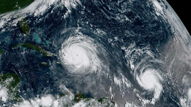 Furacão José reforça-se e evolui para categoria 3 com ventos de 195 km/h