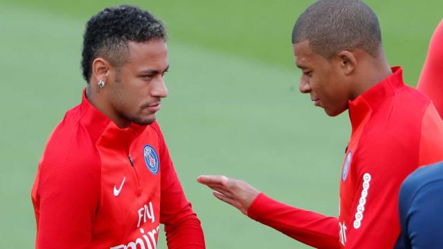 Unai Emery deixa Neymar fora dos convocados