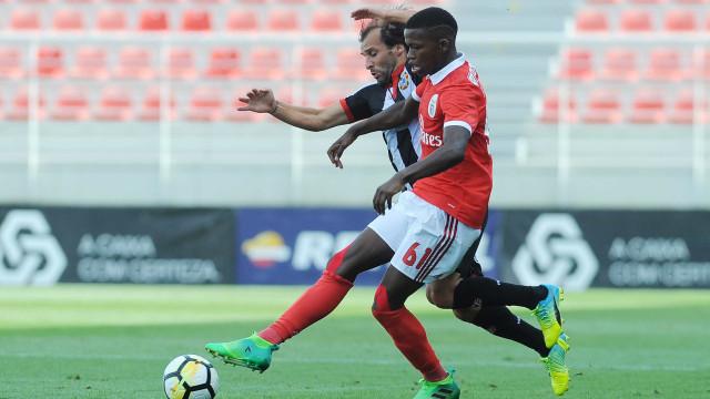 Florentino Luís bate à porta da equipa principal do Benfica