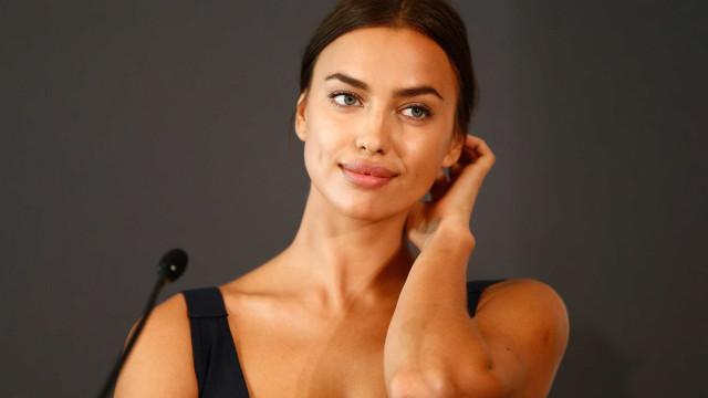 Irina Shayk sem maquilhagem na nova capa da Vogue alemã