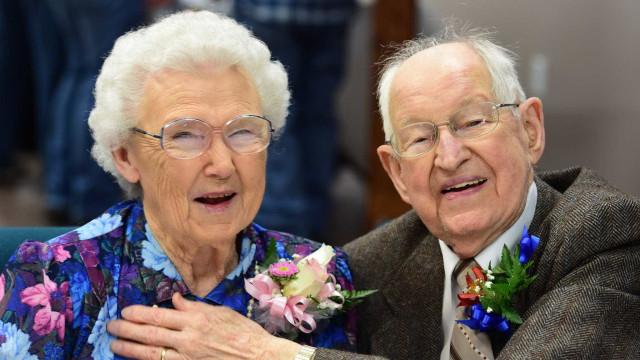 Harvey e Irma, casados há 75 anos, não esperavam ver o seu nome temido