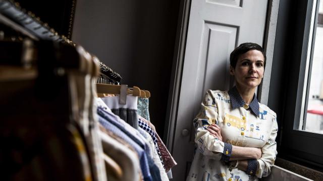 Katti Xiomara apresenta moda com 'lixo' no NOS Primavera Sound