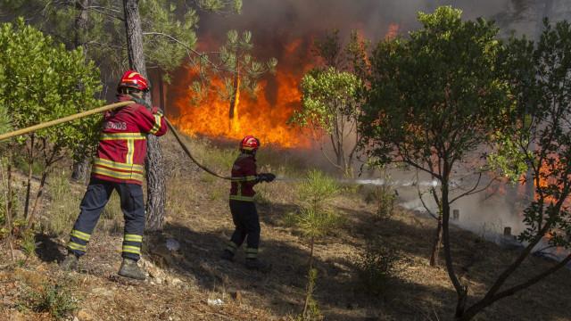 Bombeiros cercados em Santa Comba Dão e feridos em Vale de Cambra