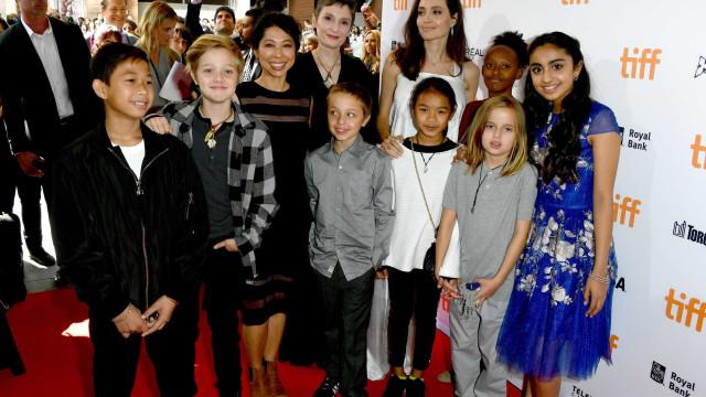"""Jolie não consegue educar os filhos sozinha: """"Ela não se consegue impor"""""""