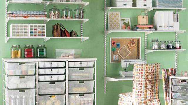 Ideias práticas para organizar o seu escritório 'caseiro'