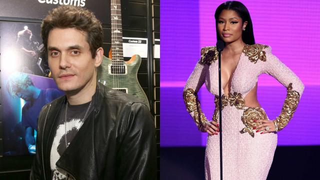 John Mayer 'atirou-se' a Nicki Minaj e ela respondeu