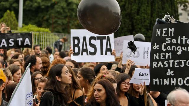 Primeiro dia de greve de enfermeiros com adesão entre os 75% e os 80%