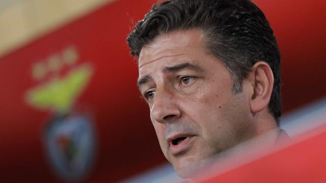 """Depois da Taça, Rui Vitória olha para a Champions: """"Queremos vencer"""""""