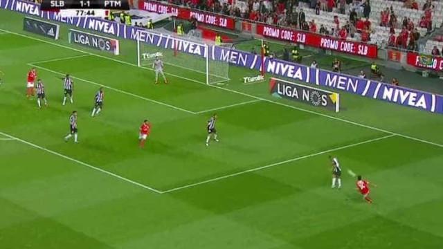 """""""Chouriço"""" ou não, André Almeida marcou o golo da jornada"""