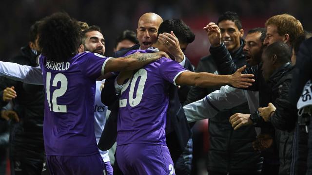 """Zidane comparou Asensio a Messi: """"Fiquei impressionado"""""""