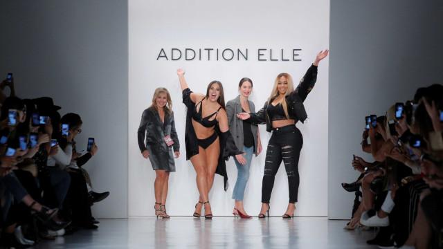Moda. Addition Elle impõe diversidade em Nova Iorque