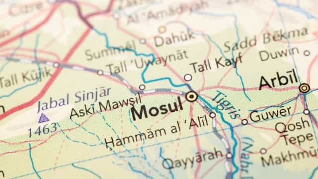 Drone bombardeou base paramilitar no norte do Iraque
