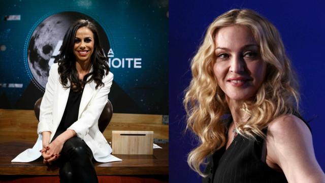 Filomena Cautela diz que 'apanhou' Madonna... o que será que conseguiu?