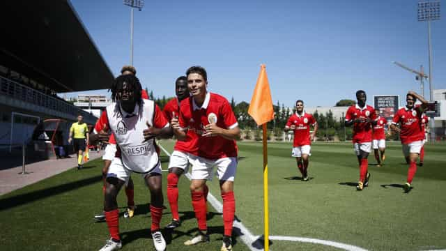 Youth League: Benfica entra a vencer com goleada sobre o CSKA