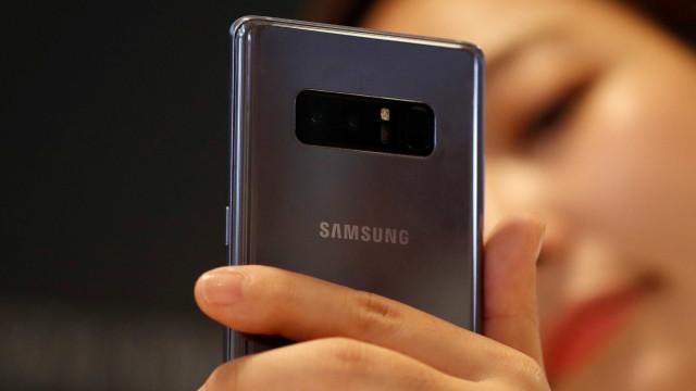 Samsung pode estrear novo sensor de impressões digitais com o Note 9