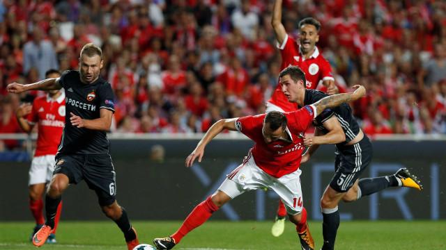Benfica derrotado numa estreia gelada na Champions