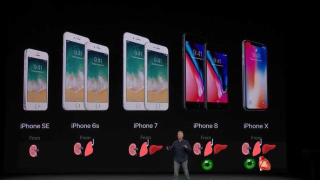 Ainda mal o iPhone X foi apresentado e já há memes hilariantes