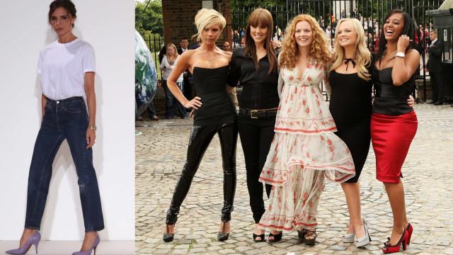 """Victoria sobre Spice Girls: """"Parecíamos homens vestidos de mulheres"""""""