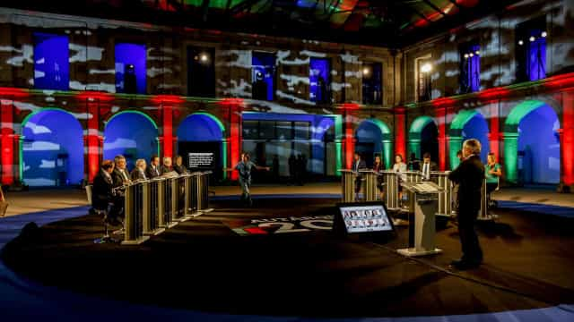 Doze candidatos à Câmara de Lisboa debateram o futuro do concelho
