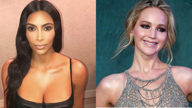 Jennifer Lawrence afirma que Kim Kardashian não a considera uma amiga