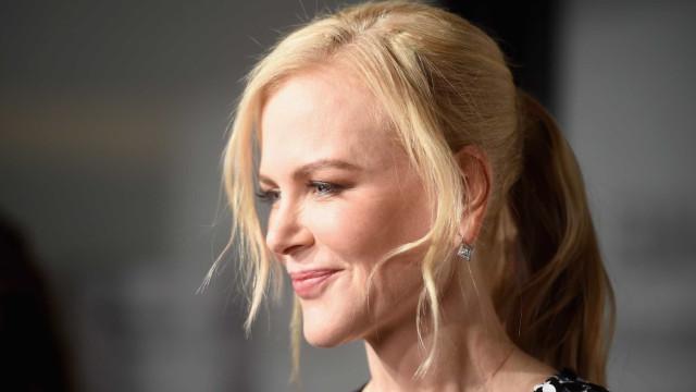 Nicole Kidman surge irreconhecível durante filmagens