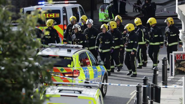 Incidente em Londres tratado como terrorismo. Segunda explosão evitada