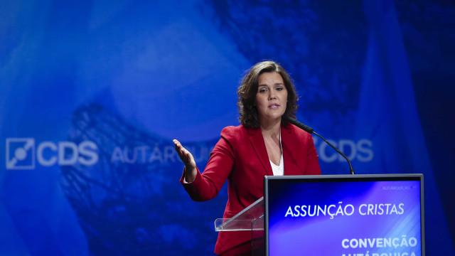 CDS avança com moção de censura ao Governo