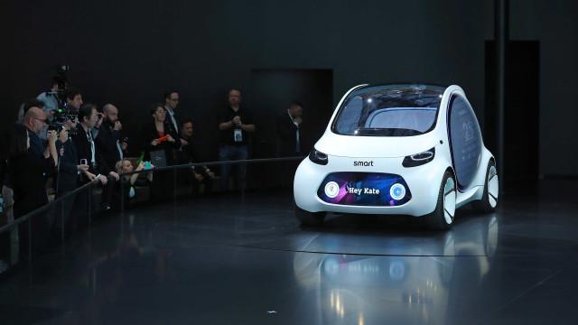 Todos os Smart passarão a ser elétricos em 2019