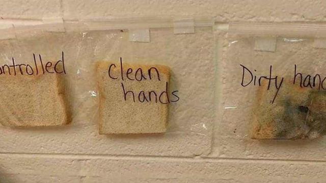 Uma lição assustadora (mas eficaz) para convencer miúdos a lavar mãos