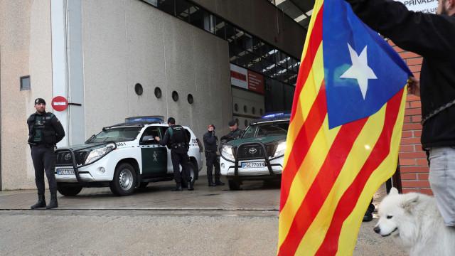 Três ex-conselheiros da Generalitat ficam em liberdade sem fiança