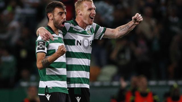 [1-0] Já se joga a segunda parte do Sporting-Tondela