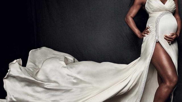 Duas semanas depois de dar à luz, Serena Williams exibe boa forma
