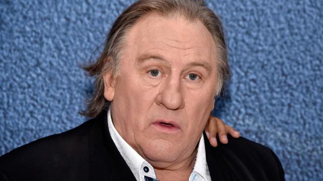 Gérard Depardieu acusado de violar jovem atriz