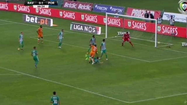 Foi assim que Marega fez o segundo golo do FC Porto no terreno do Rio Ave