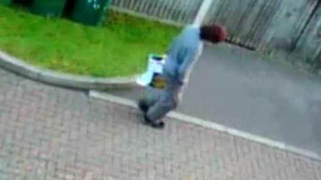 Câmaras filmaram suspeito a sair de casa com bomba em saco do Lidl