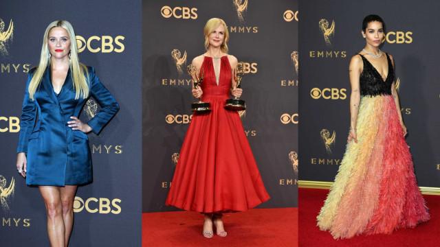 O estilo dos famosos nos Emmy Awards 2017