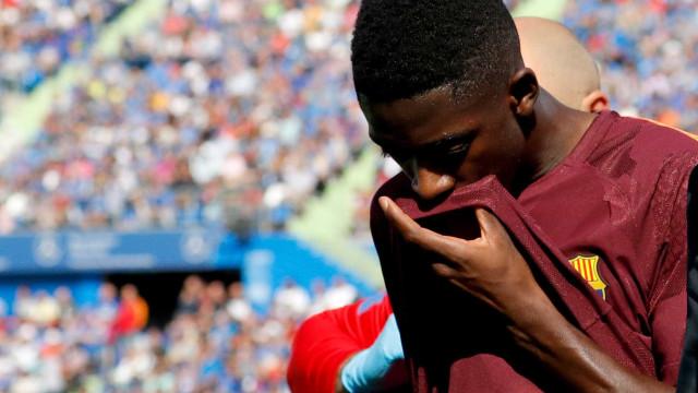 'A paciência tem limites': Barcelona já fez um ultimato a Dembelé