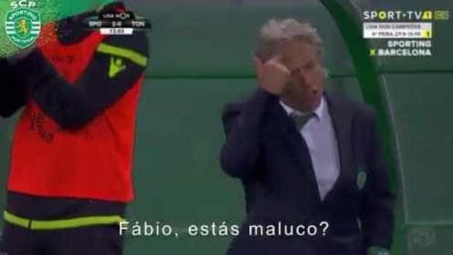 Afinal, o que disse Jorge Jesus a Fábio Coentrão? Sporting 'explica'