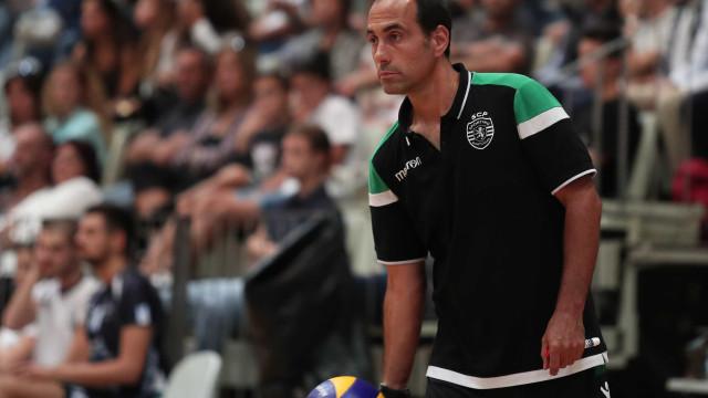Hugo Silva de saída do voleibol do Sporting