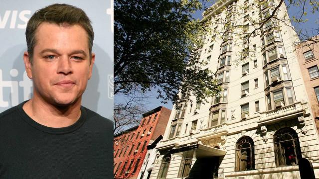 Matt Damon compra casa mais cara do bairro de Brooklyn, em Nova Iorque