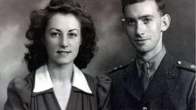 Casados há 75 anos, apenas cinco horas os separaram na morte
