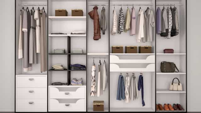 Dicas simples para organizar o guarda-roupa de forma funcional