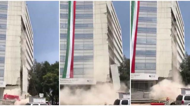 Sismo de magnitude 7.1 abala o México