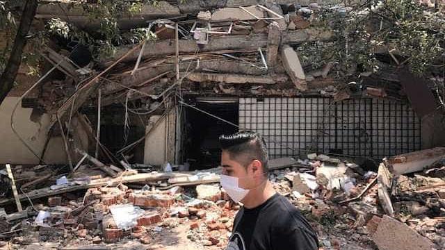 Sismo no México: Edifício colapsou, há pessoas soterradas