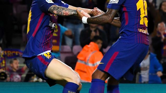 Com ajuda do 'samba', Messi oferece goleada ao Barcelona
