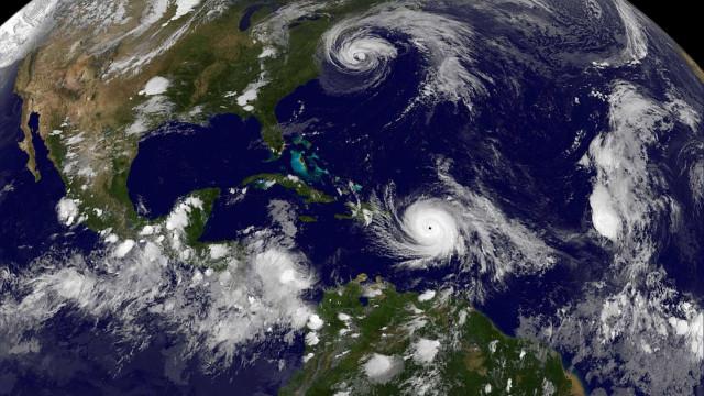 Furacão Maria vai chegar a Porto Rico nas próximas horas