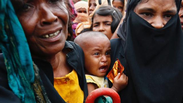 Nove mortos com difteria nos campos rohingya no Bangladesh