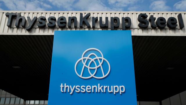 ThyssenKrupp e Tata Steel unem-se para reforço no mercado do aço europeu