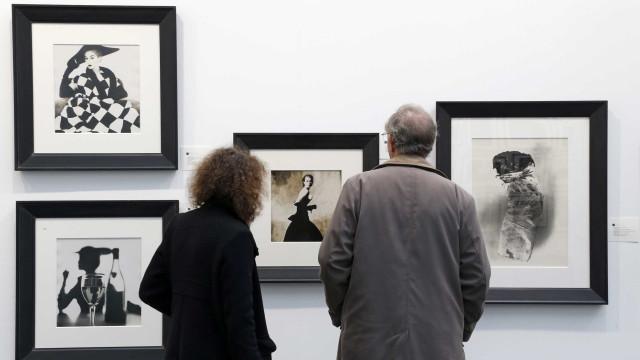 Irving Penn, ícone da fotografia de moda, em retrospetiva em Paris